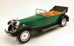 【送料無料】模型車 モデルカー スポーツカー ブガッティロイヤルモデルリオbugatti 41 royale 1927 green 143 model rio