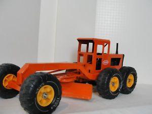【送料無料】模型車 モデルカー スポーツカー ビンテージvintage tonka road grader original condition