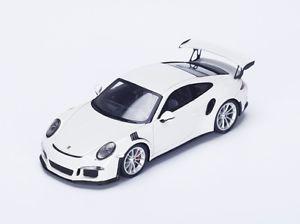 【送料無料】模型車 モデルカー スポーツカー ポルシェグアテマラルピースパークporsche 991 gt3 rs white 2016 spark 143 s4928