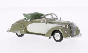 【送料無料】模型車 モデルカー スポーツカー オペルアドミラルオリーブグリーンライトベージュネオスケールopel admiral hebmller olive greenlight beige 1938 neo scale 143 43235