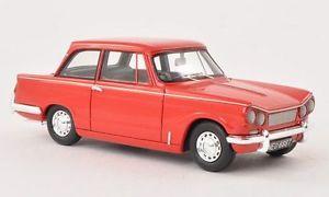 【送料無料】模型車 モデルカー スポーツカー ネオスケールtriumph vitesse mkii red 1969 neo scale 143 45662