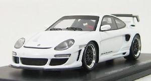 【送料無料】模型車 モデルカー スポーツカー ポルシェスパークporsche gemballa gtr 640 white 2007 spark 143 s0719