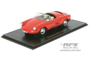 【送料無料】模型車 モデルカー スポーツカー カブリオレネオスケールモデルenzmann 506 cabriolet basis vw 1957 rot 143 neo scale models 46188
