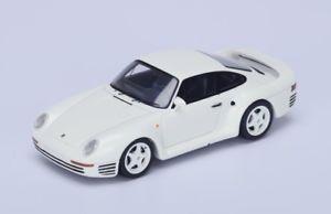 【送料無料】模型車 モデルカー スポーツカー ポルシェスポーツスパークporsche 959 sport white 1986 spark 143 s4478