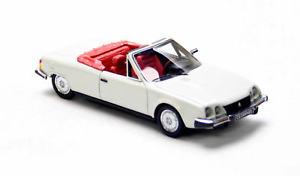 【送料無料】模型車 モデルカー スポーツカー カブリオレホワイトネオスケールcitron cx orphe cabrio white 1983 neo scale 143 43781