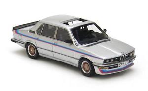 【送料無料】模型車 モデルカー スポーツカー シルバーストライプネオスケールbmw m535i e12 silver with stripes 1978 neo scale 143 43471