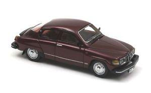 【送料無料】模型車 モデルカー スポーツカー ダークレッドメタリックネオスケールsaab 96gl dark red metallic 1979 neo scale 143 43680