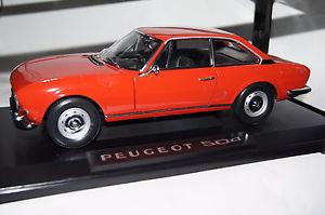【送料無料】模型車 モデルカー スポーツカー プジョークーペレッドpeugeot 504 coupe 1971 rot 118 norev neu amp; ovp 184776