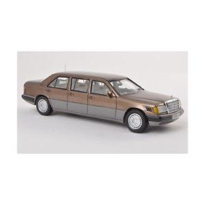 【送料無料】模型車 モデルカー スポーツカー メルセデスセダンメタリックブラウンmercedes 250 d long v 124 limousine 1990 metallic brown 143 automodelli varie m