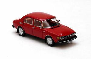 【送料無料】模型車 モデルカー スポーツカー ドアネオスケールsaab 99 4door red 1971 neo scale 143 43676