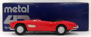 【送料無料】模型車 モデルカー スポーツカー スケールホワイトメタルモデルロードスターmetal 43 143 scale white metal model bmw 507 roadster red