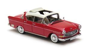 【送料無料】模型車 モデルカー スポーツカー オペルキャプテンホワイトレッドネオスケールopel kapitn 25 white over red 1958 neo scale 143 43942
