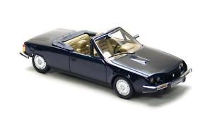 【送料無料】模型車 モデルカー スポーツカー カブリオレネオスケールcitron cx orphe cabrio dark blue 1983 neo scale 143 43782