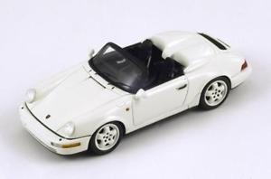 【送料無料】模型車 モデルカー スポーツカー ポルシェカレラブスポーツスパークporsche 964 carrera 32 speedster clubsport white 1987 spark 143 s2043
