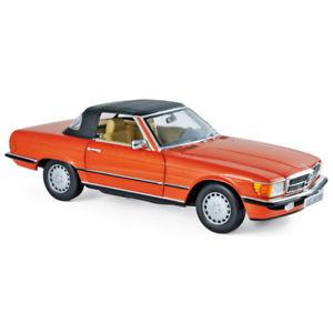 【送料無料】模型車 モデルカー スポーツカー メルセデスmercedes 300 sl 1986 red 118 183467 norev