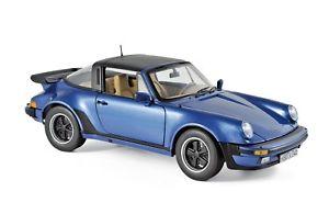 【送料無料】模型車 モデルカー スポーツカー ポルシェターボタルガporsche 911 turbo targa  norev 118 blaumet 187663