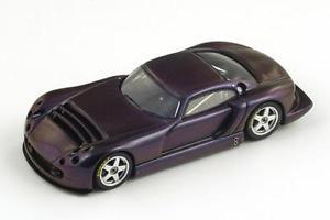 【送料無料】模型車 モデルカー スポーツカー プロトタイプスパークtvr speed 12 prototype purple 1997 spark 143 s0234