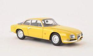 【送料無料】模型車 モデルカー スポーツカー アルファロメオスプリントネオスケールalfa romeo 2600 sprint zagato yellow 1967 neo scale143 45603
