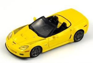 【送料無料】模型車 モデルカー スポーツカー シボレーコルベットスパイダースパークchevrolet corvette c6rs spyder yellow 2008 spark 143 s1535