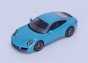 【送料無料】模型車 モデルカー スポーツカー ポルシェカレラスパークporsche 991 carrera s blue2016 spark 143 s4937