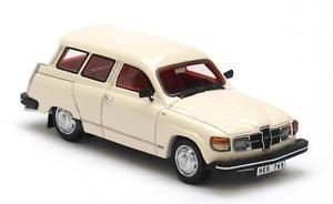 【送料無料】模型車 モデルカー スポーツカー ネオスケールsaab 95 gl white 1979 neo scale 143 43765