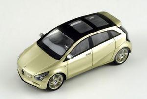 【送料無料】模型車 モデルカー スポーツカー メルセデスベンツコンセプトスパークmercedes benz blue zero concept 2010 spark 143 s1056