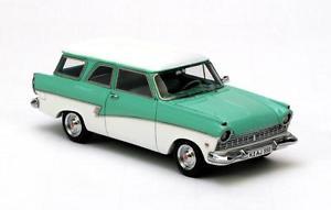 【送料無料】模型車 モデルカー スポーツカー フォードターコイズネオスケールford p2 kombi turqoise 1957 neo scale 143 44550