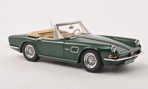 【送料無料】模型車 モデルカー スポーツカー ダークグリーンネオスケールac 428 frua convertible dark green neo scale 143 45020
