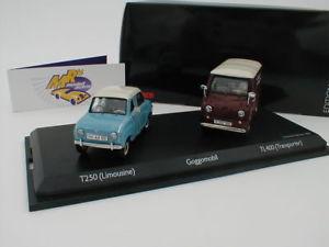 【送料無料】模型車 モデルカー スポーツカー セットセダンイムエドschuco 03475 set goggomobil t250 limousine tl400 transporter 143 limed500