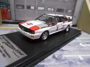 【送料無料】模型車 モデルカー スポーツカー アウディクワトロラリーケルン#イムスカラaudi quattro rallye kln ahrweiler 1983 0 rhrl lim 1250 scala43 143