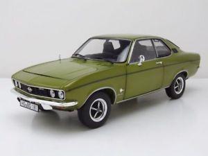 【送料無料】模型車 モデルカー スポーツカー オペルマンタライムグリーンメタリックモデルカーopel manta 1970 limonen grn metallic, modellauto 118 norev