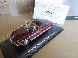 【送料無料】模型車 モデルカー スポーツカー ルキャディ892g norev 157036 citron id 19 le caddy h chapron 143