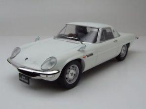 【送料無料】模型車 モデルカー スポーツカー マツダコスモスポーツホワイトモデルカートリプルmazda cosmo sport wei, modellauto 118 triple9