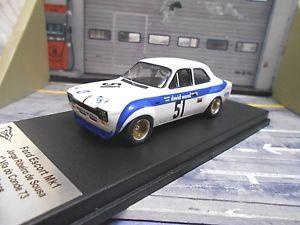 【送料無料】模型車 モデルカー スポーツカー フォードエスコート#デスーザエディションford escort mki rs touringcar 51 ribeiro de sousa 1974 trofeu edition 143