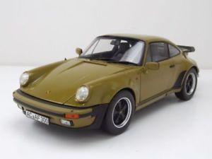【送料無料】模型車 モデルカー スポーツカー ポルシェターボオリーブグリーンモデルカーporsche 911 930 turbo 33 1977 oliv grn, modellauto 118 norev