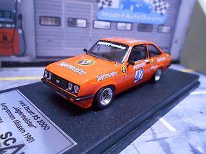 【送料無料】模型車 モデルカー スポーツカー フォードエスコートレースイェーガーマイスター#ford escort mkii rs2000 bergrennen jgermeister ketterer 42 misse scala43 143