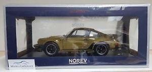 【送料無料】模型車 モデルカー スポーツカー ポルシェターボオリーブグリーンnorev 118 187575 porsche 911 turbo 33l 1977 olive green