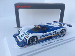 【送料無料】模型車 モデルカー スポーツカー スパークターボ#チームルマンspark 143 nissan r88c turbo v8 23 team nissan 24h le mans 1988 art s5080