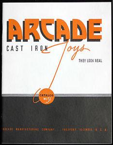 【送料無料】模型車 モデルカー スポーツカー アーケードカタログ#1936 arcade cast iron toy catalog 51 top quality litho with supplements