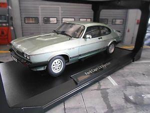 【送料無料】模型車 モデルカー スポーツカー インジェクションフォードカプリクーペクリスタルグリーングリーンford capri 3 mkiii 28i 28 injection coupe crystal green grn m 1982 norev 118