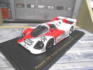 【送料無料】模型車 モデルカー スポーツカー ポルシェクレーメルノリスリング#クレーメルスパーク