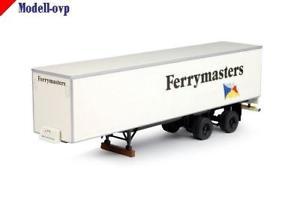 【送料無料】模型車 モデルカー スポーツカー クラシックボックスセミトレーラフェリーマスターズclassic box semitrailer ferrymasters tekno t 64604