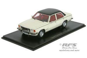 【送料無料】模型車 モデルカー スポーツカー オペルコモドールネオopel commodore b gse baujahr 1973 weiss schwarz 143 neo 43687