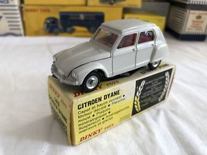 【送料無料】模型車 モデルカー スポーツカー スペインシトロエンjouet ancien dinky toys spain citroen dyane boite d'origine 1413