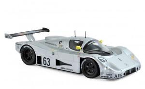 【送料無料】模型車 モデルカー スポーツカー メルセデスベンツフランスムーズnorev 183442 mercedesbenz sauber c9 winner france 24h 1989 118 maasreuter