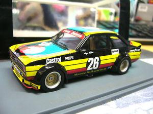 【送料無料】模型車 モデルカー スポーツカー フォード#ハイヤーネオハイエンドford escort mkii rs gr2 26 mampe etcc heyer zakspeed neo resin highend 143