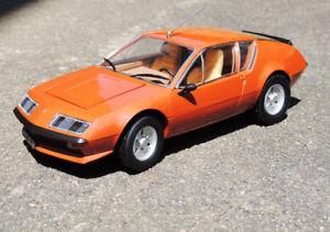 【送料無料】模型車 モデルカー スポーツカー ミニチュアルノーアルパインvoiture miniature alpine renault a310 v6 1976 au 118