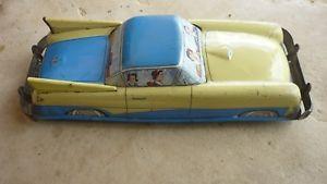 【送料無料】模型車 モデルカー スポーツカー セダングランデボンlimousine joustra grande tole ancien jouet bon etat tin toy car good condition
