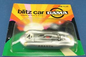 【送料無料】模型車 モデルカー スポーツカー ガマミニフィアットアバルトボックスモデルモデルgama minimod 9600 fiat abarth 146 neu in ovp modellauto model car