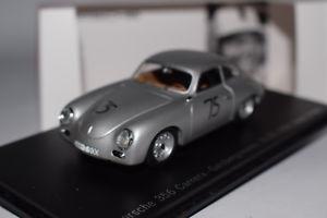 【送料無料】模型車 モデルカー スポーツカー ポルシェカレラレースセップスパークミュージアムエディションporsche 356 carrera gaisbergrennen 1959 sepp greger spark 143 museum edition